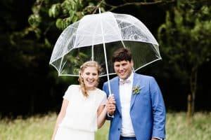 Regen op je huwelijk