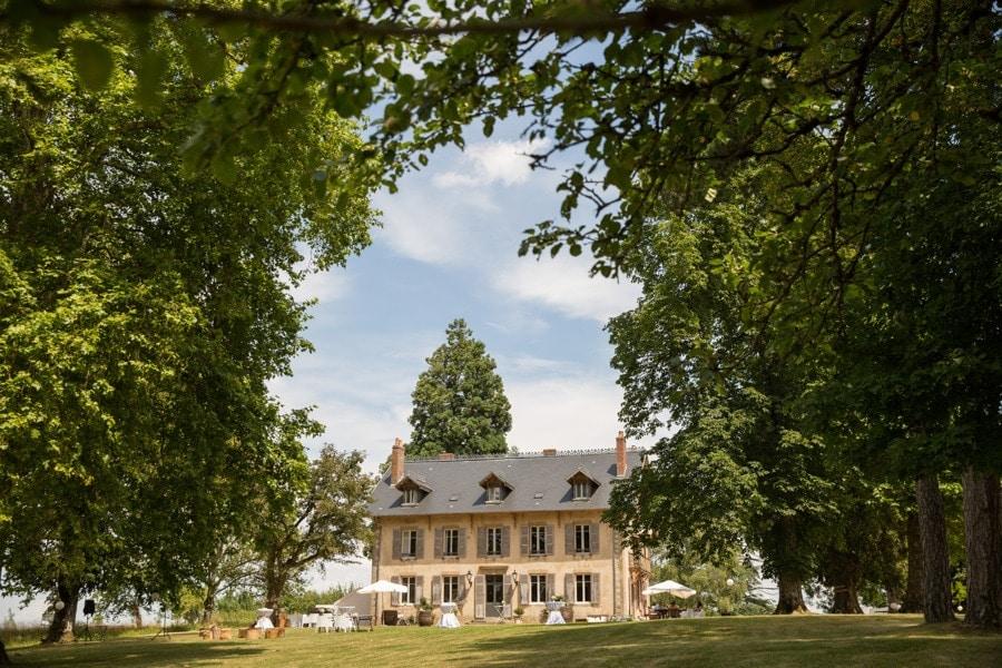 huwelijk op Domaine de Savigny