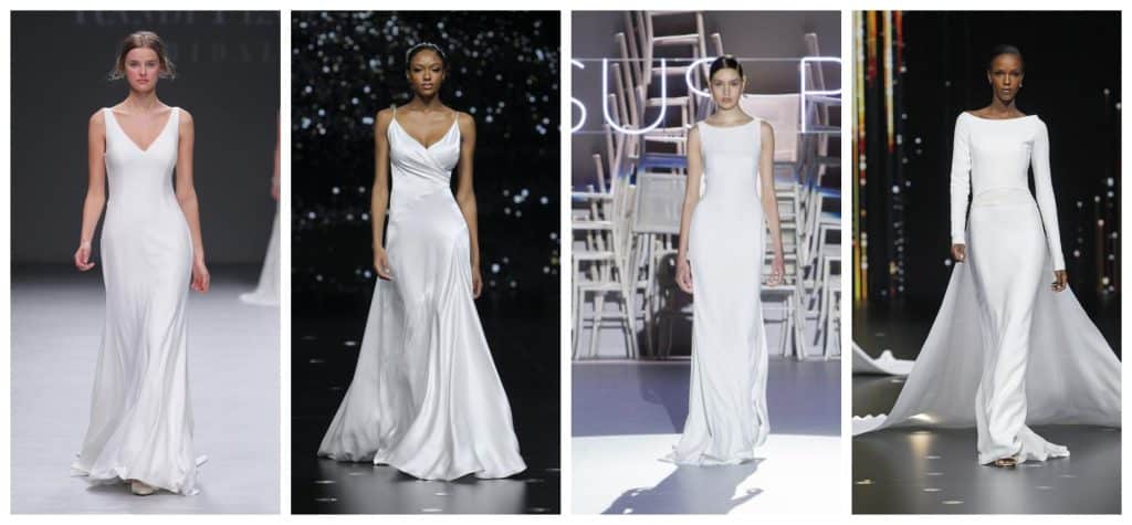 wedding dresses trend less is more