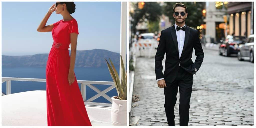 dress code huwelijksuitnodiging black tie